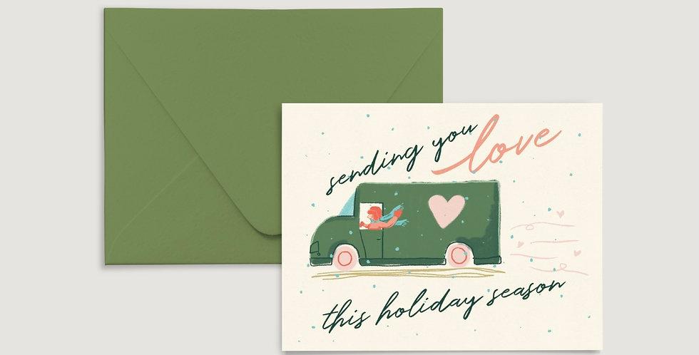 Sending You Love Card