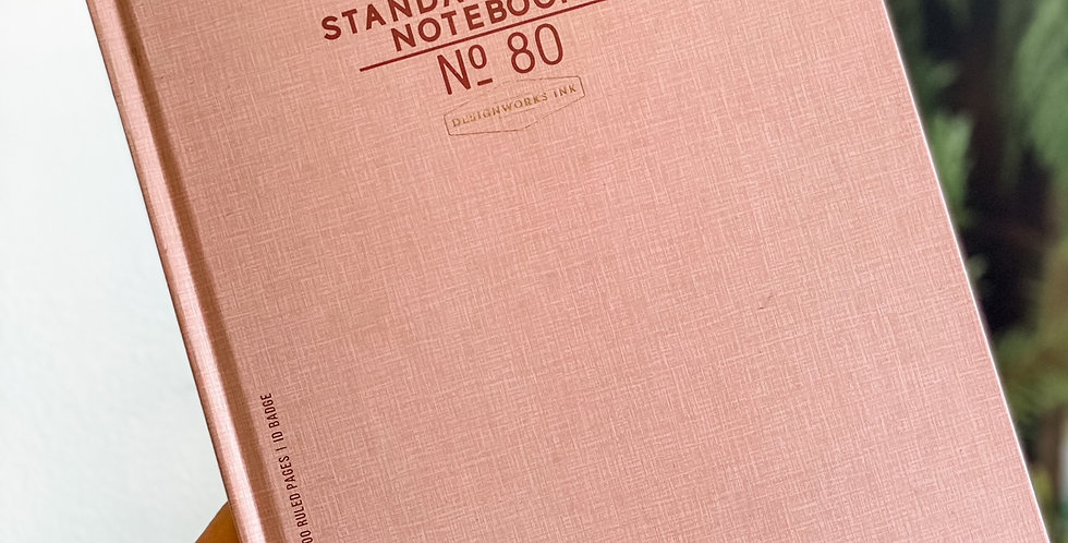 Large Standard Issue Notebook