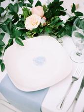 Light Blue Styled Head Table