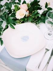 Light Blue Styled Head Table