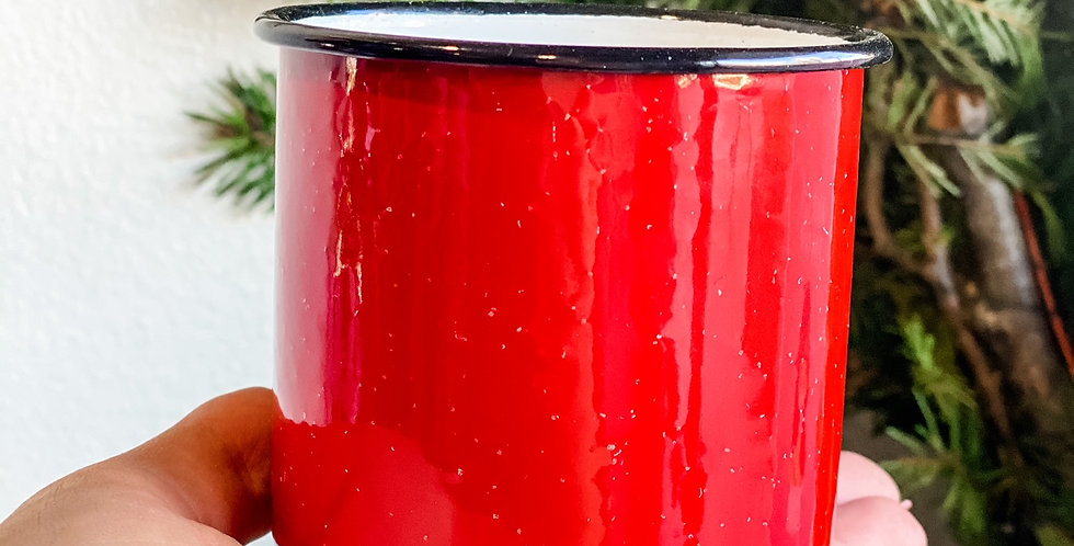 Pomegranate Spruce Candle