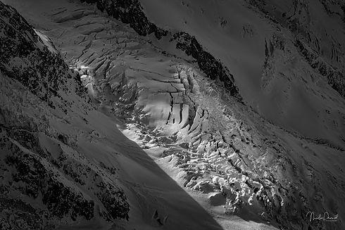 glacier les Bossons