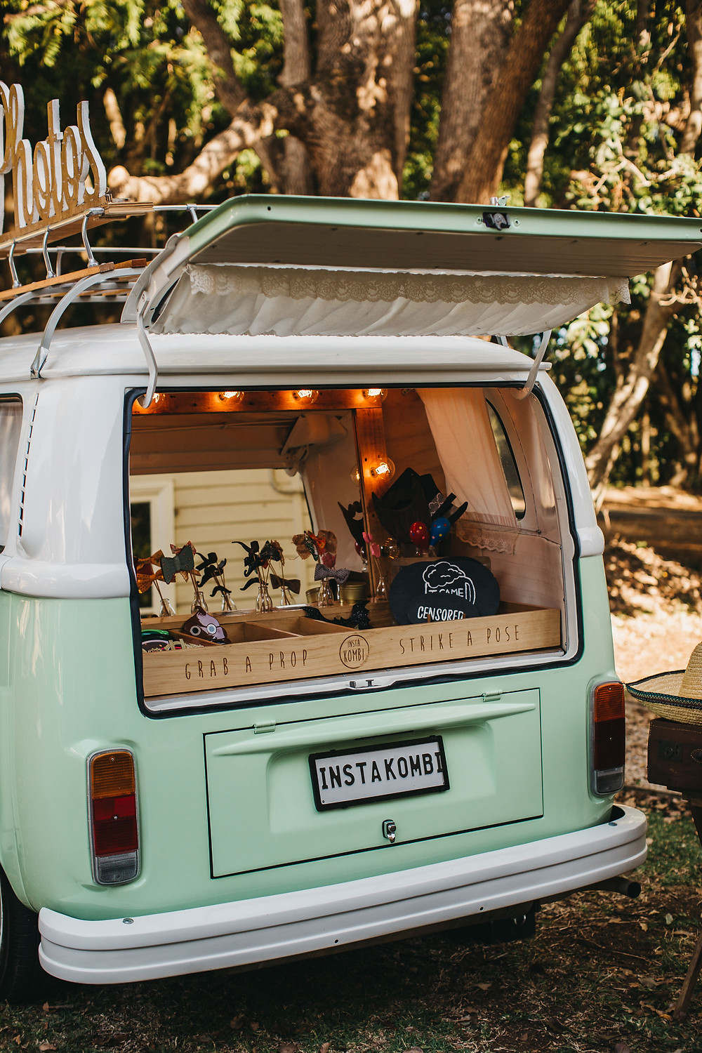 Ewingsdale Hall, Byron Bay with Insta Kombi Photo Booth