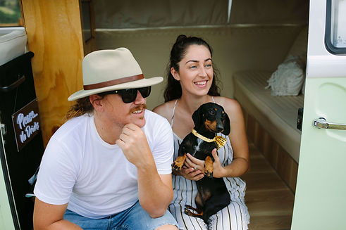 Kiefa & Jake owners of Insta Kombi Photo Booth at Summergrove Estate