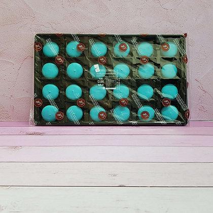 24-חצאים עוגיות מקרון כחול