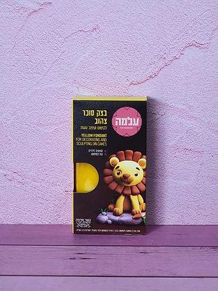 בצק סוכר צהוב 150 גרם