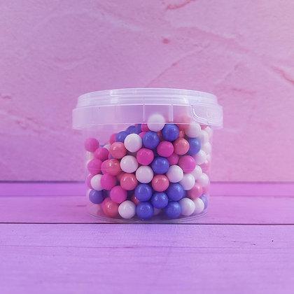 סוכריות סודה פנינים לבן כחול ורוד