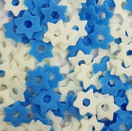 סוכריות מגן דוד כחול לבן
