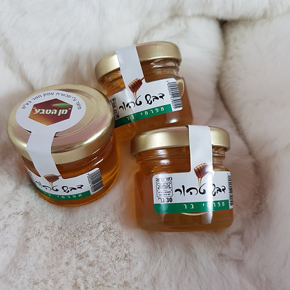 צנצנת דבש 30 גרם עמק חפר