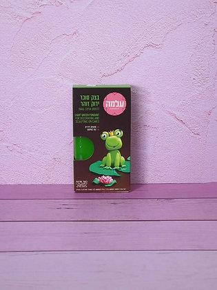 בצק סוכר ירוק זוהר 150 גרם