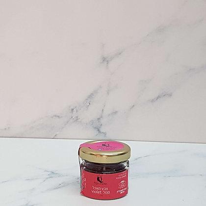 אבקת צבע מאכל איכותית בצבע סגול