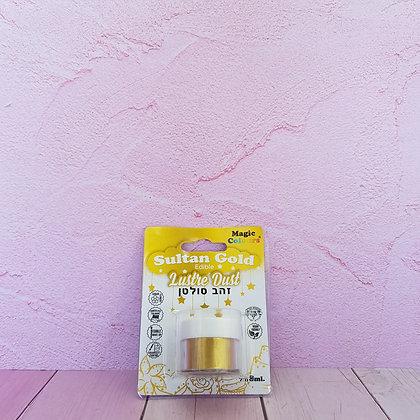 אבקת איבוק מטאלי זהב סולטן
