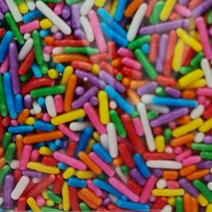 סוכריות מזרה ארוך צבעוני - קילו