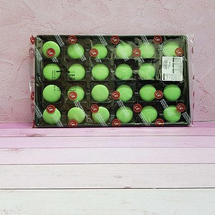 24-חצאים עוגיות מקרון ירוק