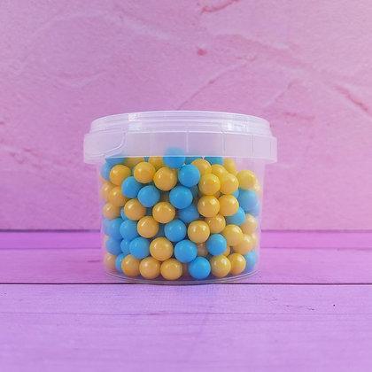 סוכריות סודה פנינים צהוב תכלת
