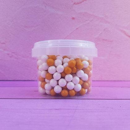 סוכריות סודה פנינים לבן כתום