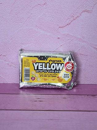 בצק סוכר צהוב 250 גרם
