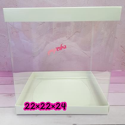 קופסא 22×22×24 לבן