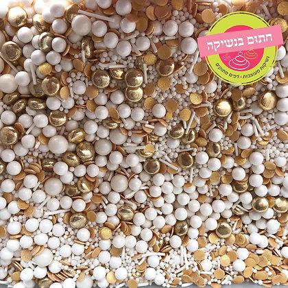 מיקס סוכריות זהב לבן