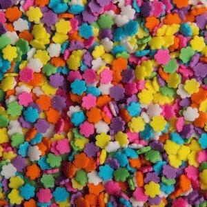סוכריות פרחים צבעוני