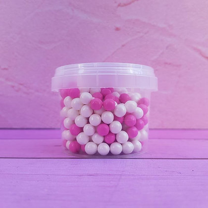 סוכריות סודה פנינים לבן ורוד