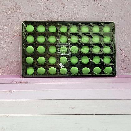 40-חצאים עוגיות מיני מקרון ירוק