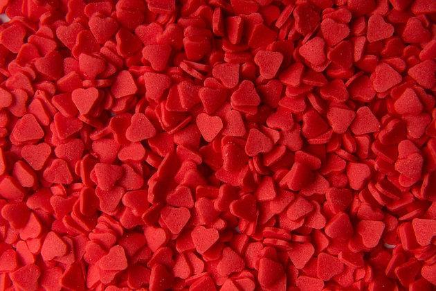 סוכריות לבבות אדום