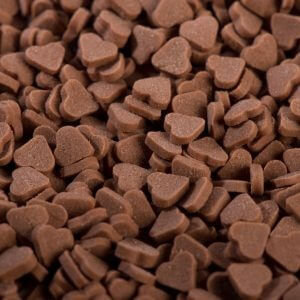 סוכריות לבבות חום