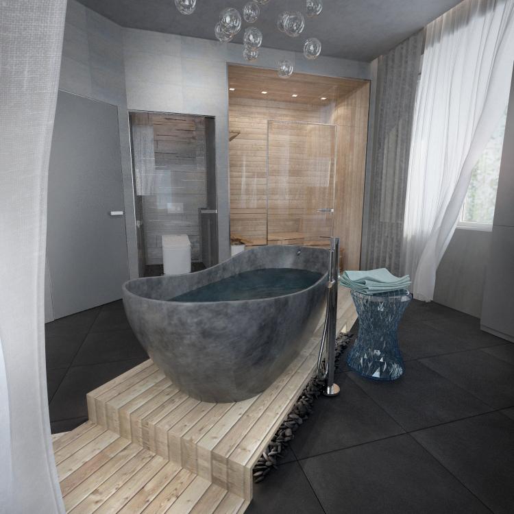 Ванная хозяев