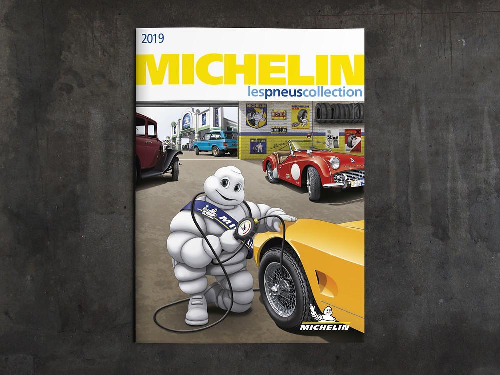 catalogue Michelin 2019 Retrouvez toutes mes illustrations sur le pdf ici :  http://www.michelinclassic.com/fr/Gamme-Collection