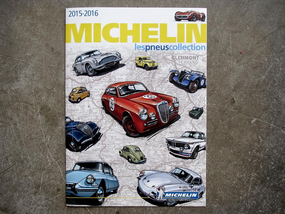 Illustration Catalogue Michelin Pneus Collection 2015-2016
