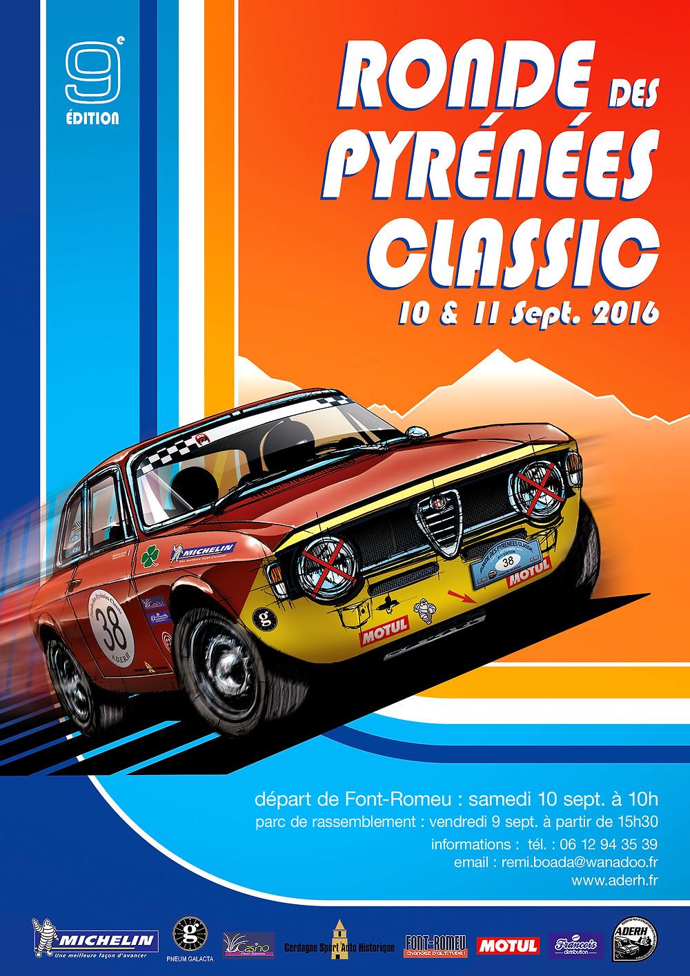 Ronde des Pyrénées Classic 2016