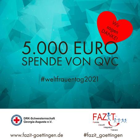 5.000 Euro von QVC