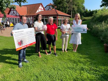 Benefiz-Golfturnier: 8.500 Euro für den Förderverein