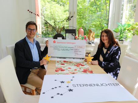 """7.500 Euro dank """"Sternenlichter-Einback"""""""