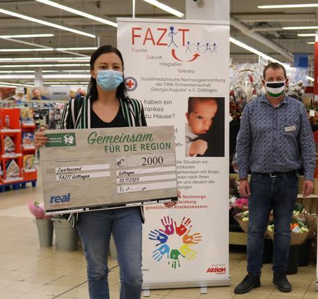 2000 Euro für FAZIT