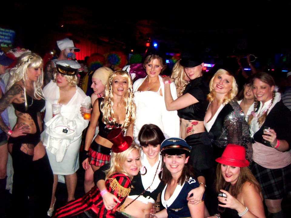 Eleanor's Britney vs Christina hen party at Butlins