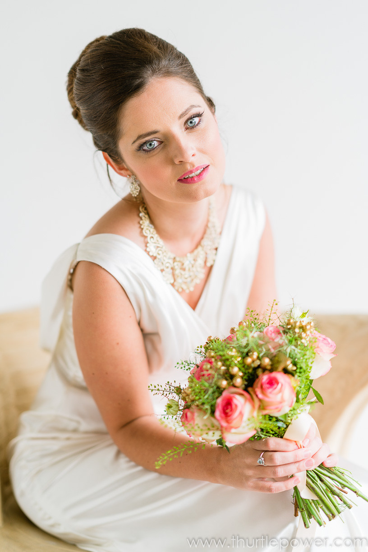 Chic Italain styled bride
