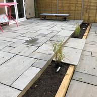 natural slab patio