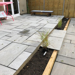 natural slab patio