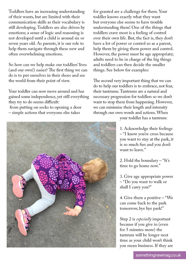 Toddler Tantrums - What To Do