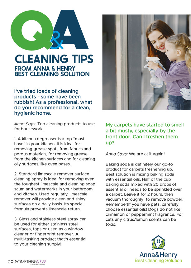 Cleaning Q And Q