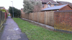 Close Panel Fence in Dorset
