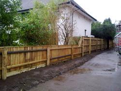 Garden Fence Dorset