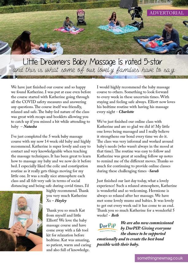 Baby Massage - Dorset