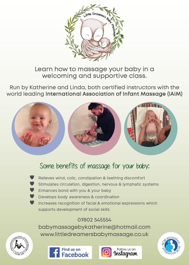 Little Dreamers Baby Massage