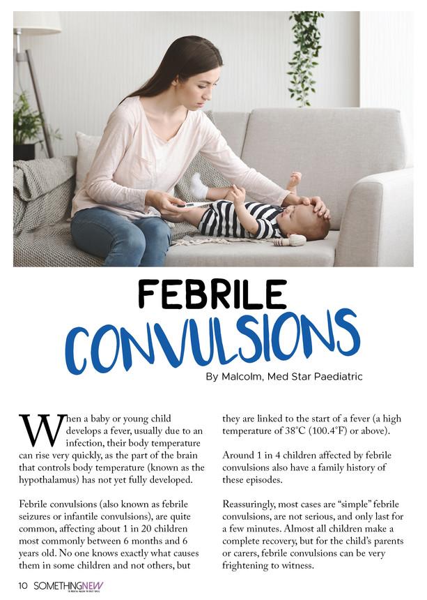 Febrile Convulsions Help