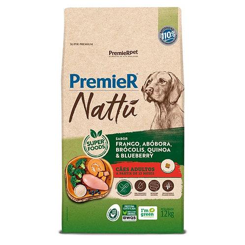 Ração Premier Nattu Cães Adultos Abóbora