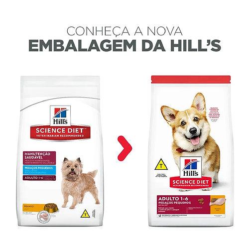 Ração Hill's Cães Adultos Pedaços Pequenos (324940)