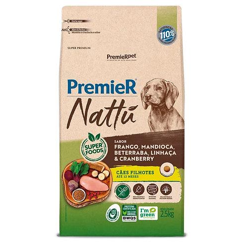 Ração Premier Nattu Cães Filhotes Mandioca (291424 / 293970)